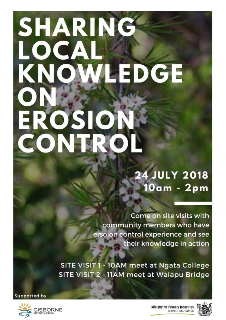 Sharing Local Knowledge On Erosion - Radio Ngati Porou